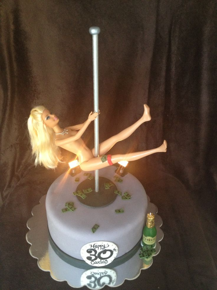Stripper Barbie Cake