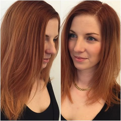 Bildresultat för koppar hårfärg