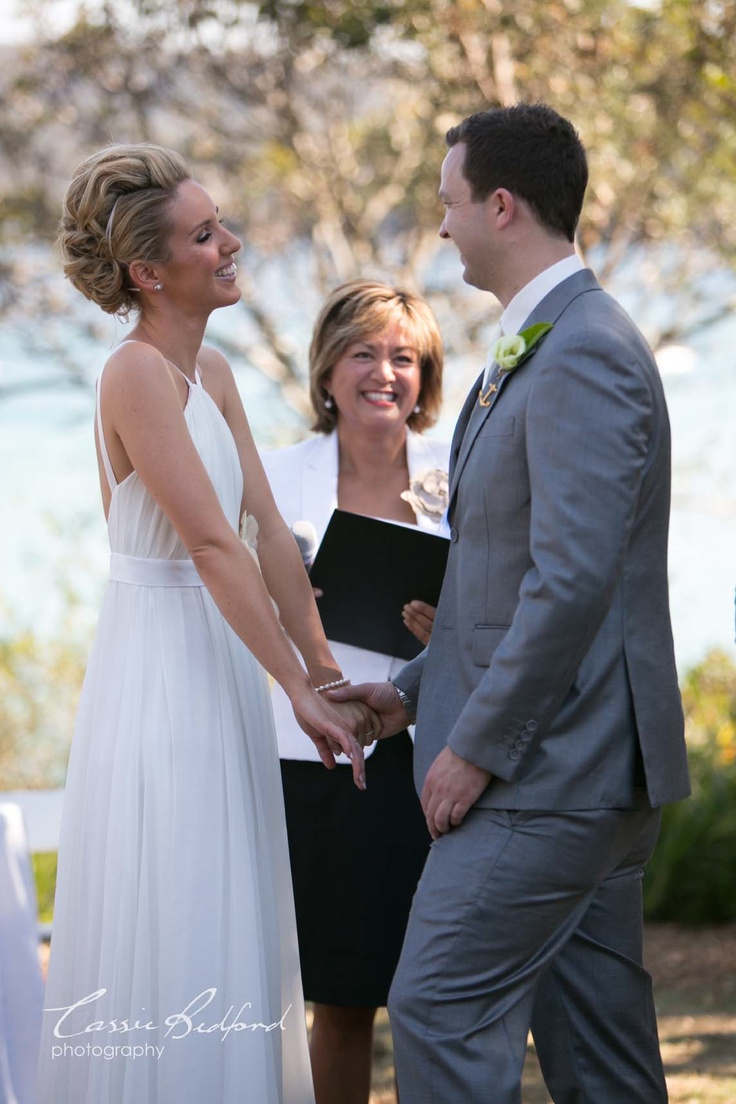 Ashley & Cory were married at Lilli Pilli Point Reserve, NSW Australia  Photo by Cassie Bedford Photography