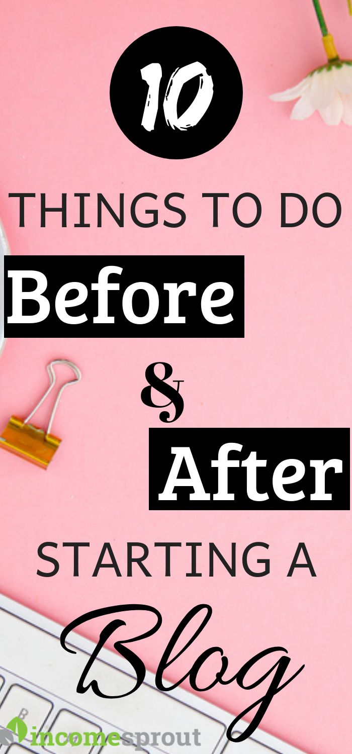 10 Things To Do Before and After Starting Your Blog – Nayan Sharma |Start a Blog | Social Media Strategist | Email Marketing Expert