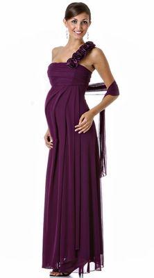 Casas de vestidos de fiesta para embarazadas
