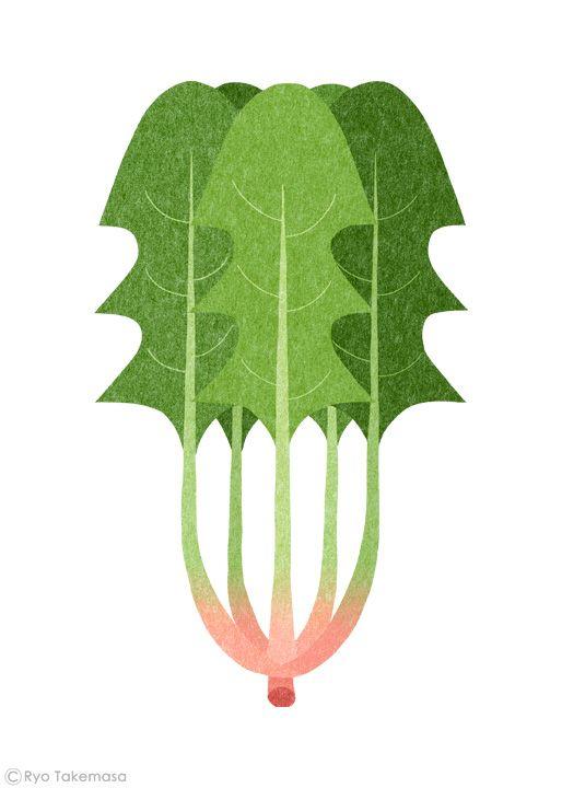 武政 諒 Ryo Takemasa   News & Blog : 雑誌『オレンジページ』の野菜特集でイラストレーションを担当しました。 Illustrations for Orange Page magazine.
