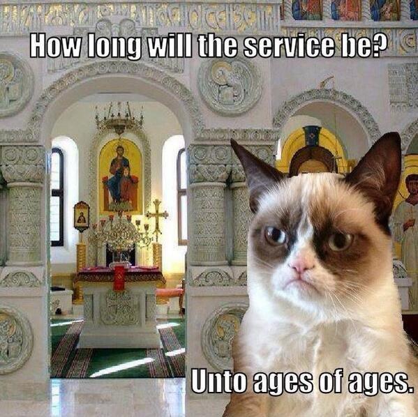 Greek Orthodox Grumpy Cat!