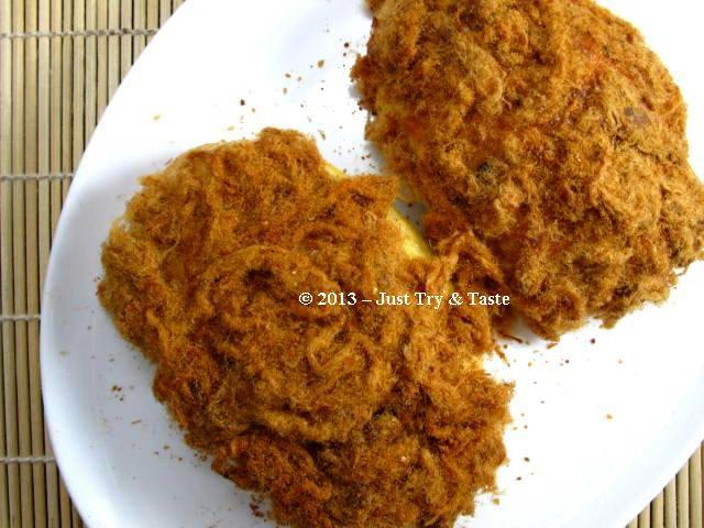 Roti Abon Isi Tumis Ayam
