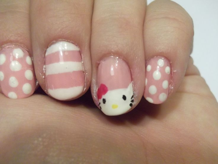 The 25 best hipster nail art ideas on pinterest black dot nails hello kitty nail design 2013 teen hello kitty nail design frauenfrisur nails prinsesfo Choice Image