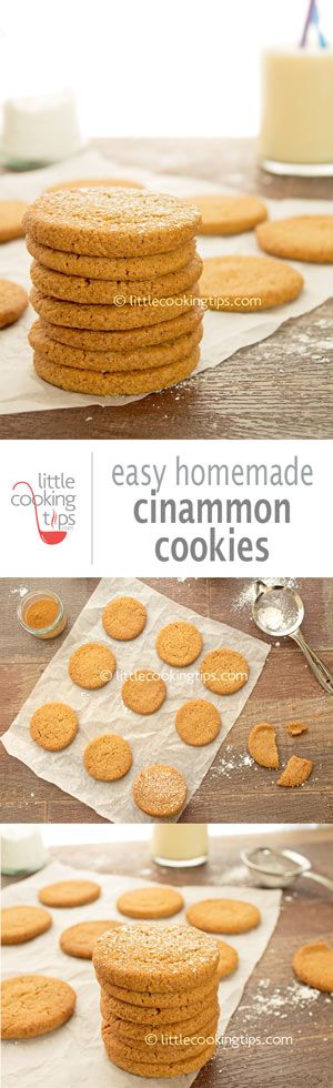 An easy homemade cinnamon cookies recipe with wonderful warming winter flavors. These snickerdoodles are perfect with your morning coffee or afternoon tea. Yummy goodness in each bite:) Repin to your own inspiration board! #ccokies #cinnamon # homemade #snickerdoodles