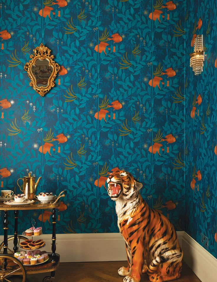 Cole & Son's Whimsical wallpaper range - Nautilus