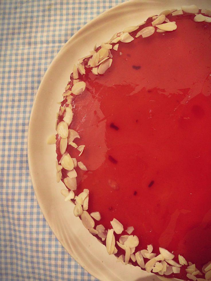 torta fredda allo yogurt senza panna