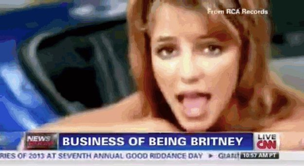 They literally went through her entire discography on air. | CNN Did A Clip On Britney Spears And Her Las Vegas Show And It Was Amazing