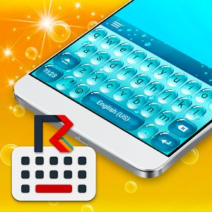 Cover art Android keyboard, Send text message, App