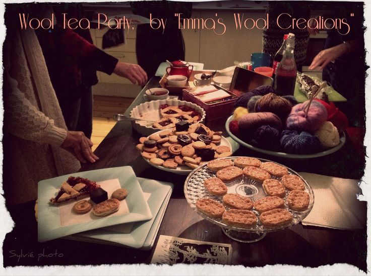 Wool and Biscuits - Sylvié Photo for tea party