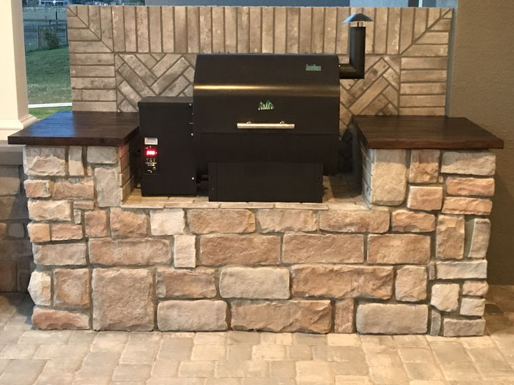 Image by Jonathan wright on Outdoor Kitchen pellet grill ...