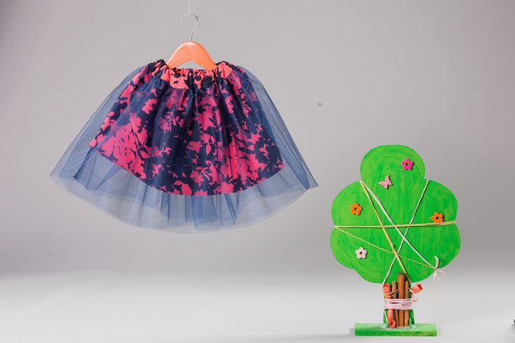 Tulle skirt for fashionable girls who believe in magic.