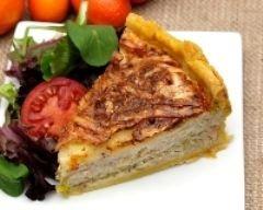 Quiche au thon et aux poireaux : http://www.cuisineaz.com/recettes/quiche-au-thon-et-aux-poireaux-9054.aspx