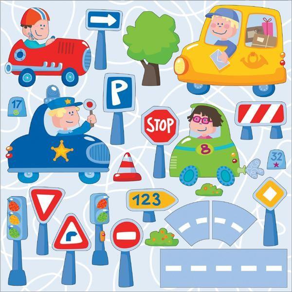 """Kleuter1 - Klasblog - Het reuzenhuis: brainstormen over """"het verkeer"""""""