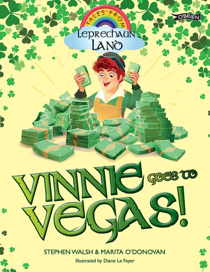 Vinnie the leprechaun makes gleaming buckles for leprechaun shoes and shiny buttons for leprechaun jackets. He loves his job, and he has a happy life and many friends -- but, oh, how Vinnie longs to be rich!     When he finds a lucky horseshoe, Vinnie sets out for Las Vegas to make his fortune. However, he soon finds that there is such a thing as too much good luck …
