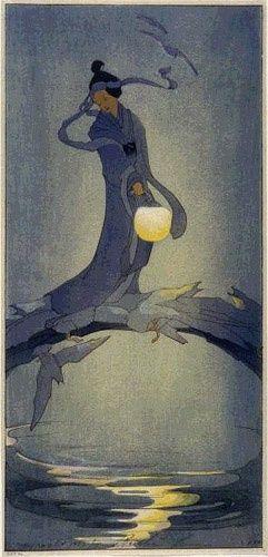 CULTURE / Tanabata by Bertha Lum, 1912