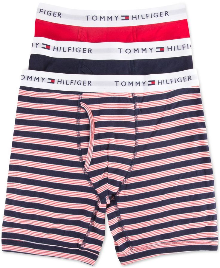 Tommy Hilfiger Boxer Briefs, 3 Pack