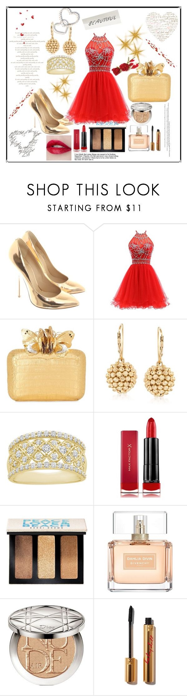"""Women set 8"" by emypoyvore ❤ liked on Polyvore featuring Giuseppe Zanotti, Nancy Gonzalez, Ross-Simons, Max Factor, Bobbi Brown Cosmetics, Givenchy and Christian Dior"