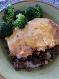 Shepherds Pie Topped With Cheese | Recipe