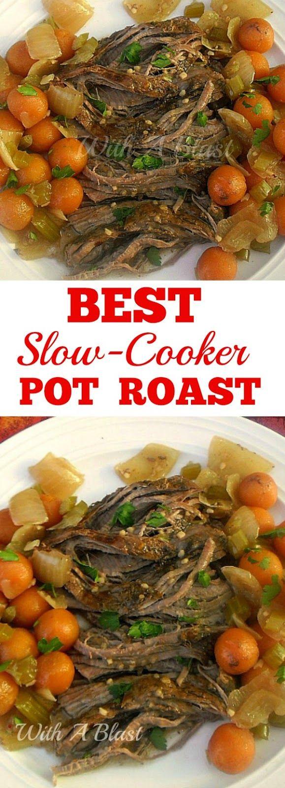 Best Slow-Cooker Pot Roast with Vegetables