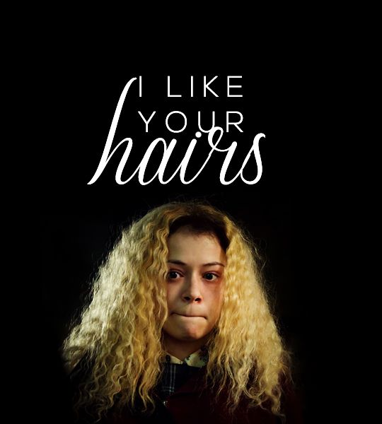 Everyone likes your hairs too Helena XD