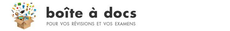 Boiîte à docs pour vos révisions et vos examens (France)