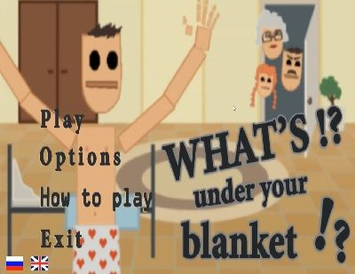 We play what's under your blanket, the simulator! #wuyb #whatsunderyourblanket #underblanket #gaming #funny #clicker #partygame #coitusinterruptus #drinkinggame #cheapgame #steam #videogame