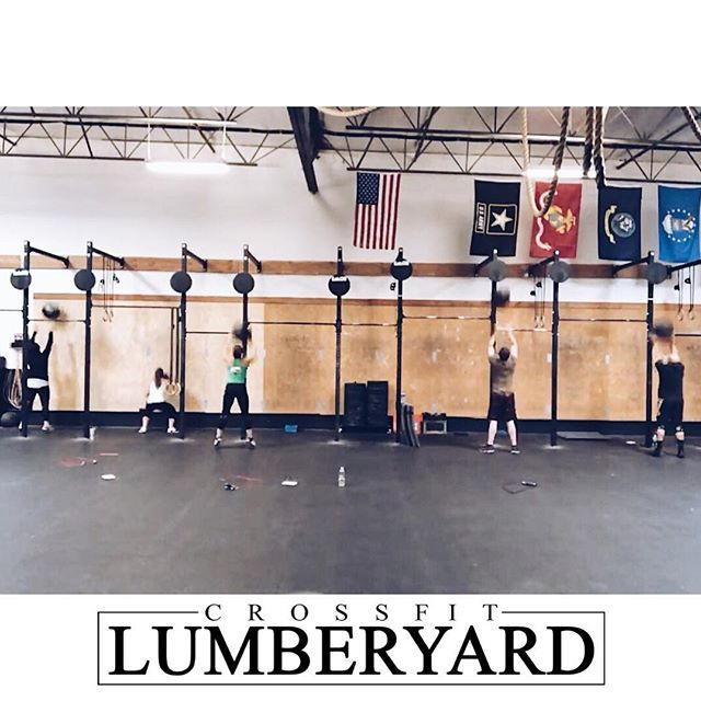 #openprep #LMBRJCKD  #Workout for Tuesday 20 Feb:  A. Push Press #E2MOM 5 x 3 Push Press all at 75%  B. Push Jerk E2MOM 3 x 5 Push Jerks All 15% higher than Push Press  C. For Time: 42-30-18 #Wallballs 20/14# 21-15-9 #Burpee Box Jump Overs 24/20  #ironsharpensiron #orangecounty #california #fitness #crossfit