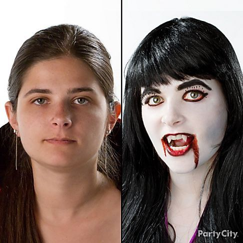 Vampire Makeup How-to Guide & Video - Party City