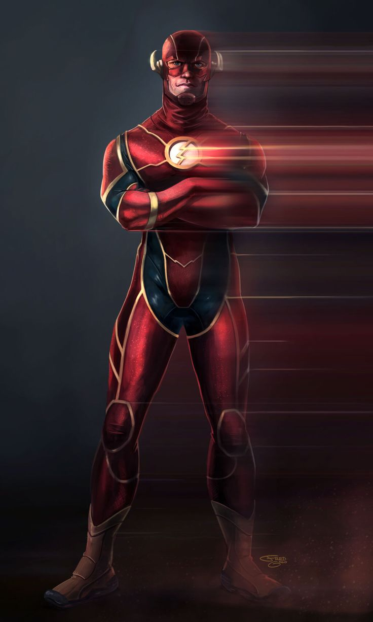 The Flash by Fred Gago