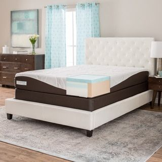 Shop for ComforPedic from Beautyrest 10-inch King-size Gel Memory Foam Mattress Set. Get free shipping at Overstock.com - Your Online Furniture Outlet Store! Get 5% in rewards with Club O! - 17473968