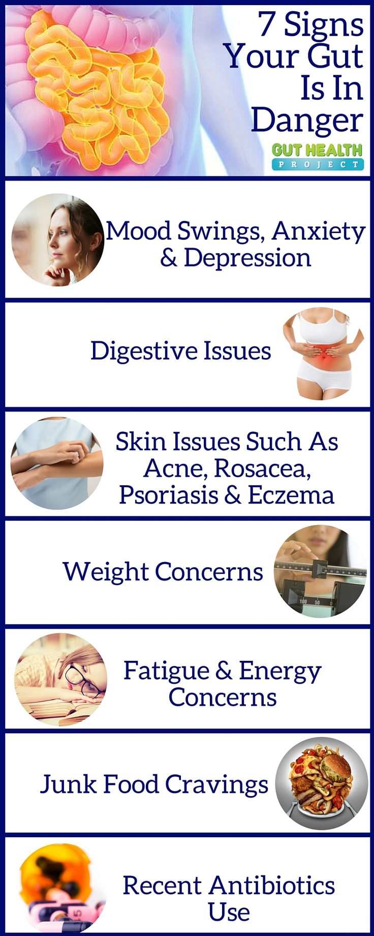 7 Signs Your Gut Is In Serious Danger. Number 7 Will Surprise You   Gut Health   Digestion   Health Infographic   Holistic   http://guthealthproject.com/7-signs-your-gut-is-in-danger/?utm_source=pinterest_ads&utm_medium=womens_health&utm_campaign=7_signs_gut_danger