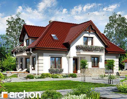 """Sprawdź piękny #projektdomu  """"Dom w alpiniach"""" na @Behance  http://on.be.net/1MQhAvD"""