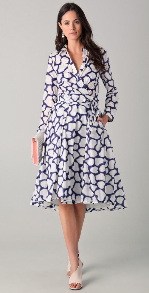 12 best wrap dress ideas images on Pinterest | Wickelkleider ...
