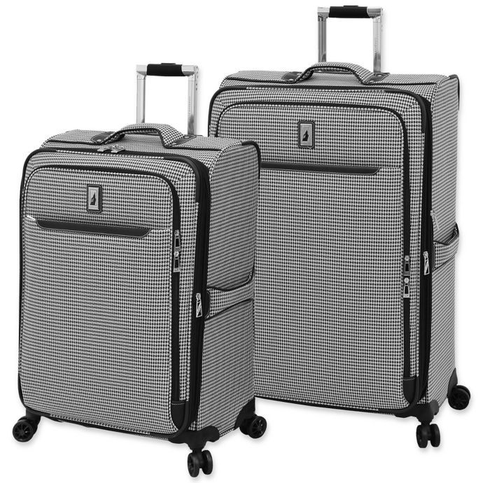 London Fog Cambridge Ii Spinner Checked Luggage Checked Luggage