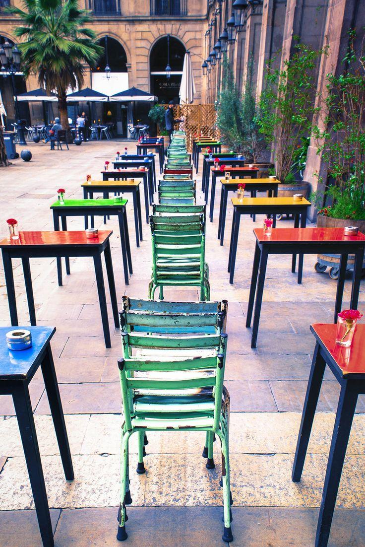Bar Ocaña, Plaça Reial #España