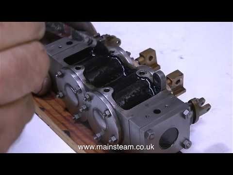 STUART MODELS TWIN LAUNCH STEAM ENGINE REBUILD - PART #14 - YouTube