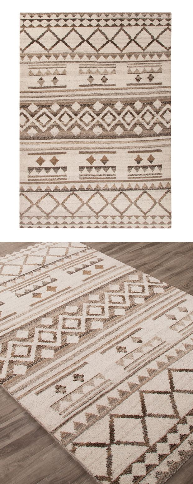 Make A Statement With A Tribal Print Our Amara Rug Is