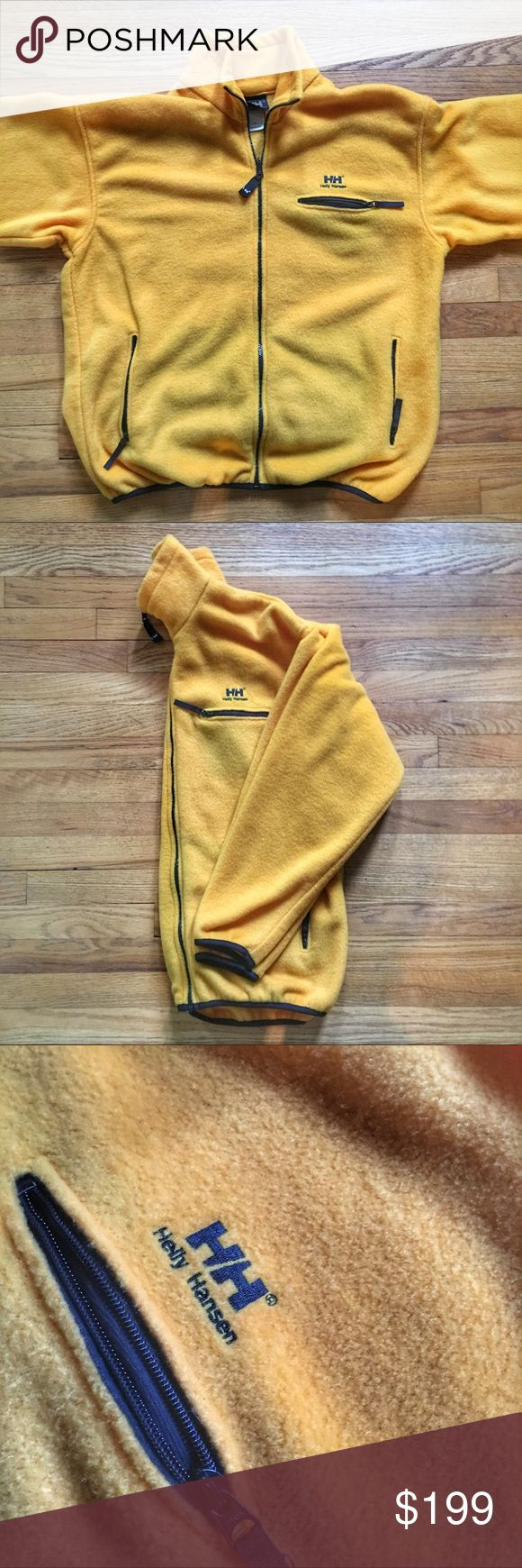 **SOLD** Vintage Helly Hansen Fleece Zip-up Jacket Vintage Helly Hansen Fleece Zip-up Jacket - large.  Pre-owned in excellent condition. Get it cheaper on G®ailed or Ⓜ️erc. Helly Hansen Jackets & Coats