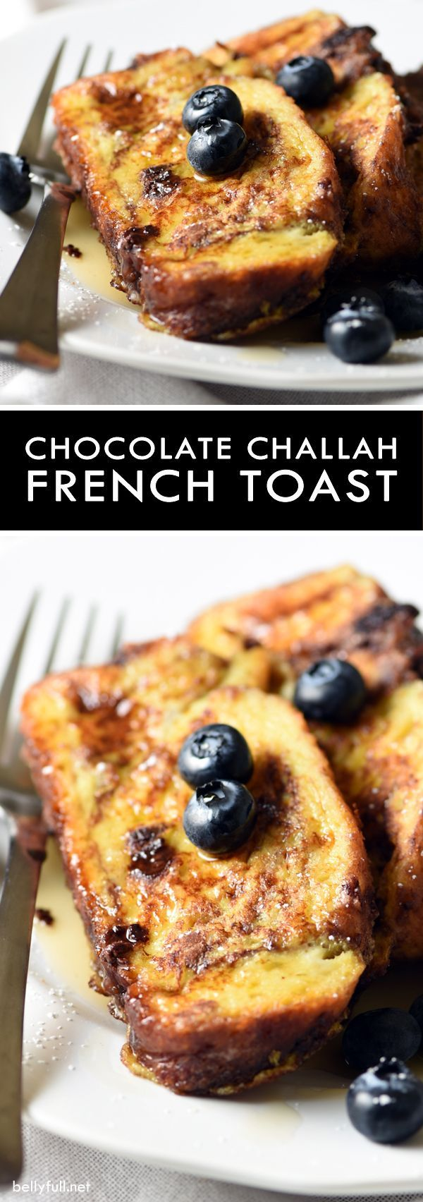 Chocolate Challah French Toast