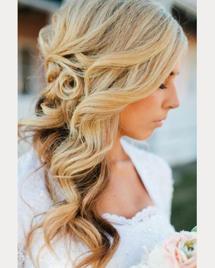Side Wedding Hairstyles: Side Swept Wedding Hairstyles To Inspire