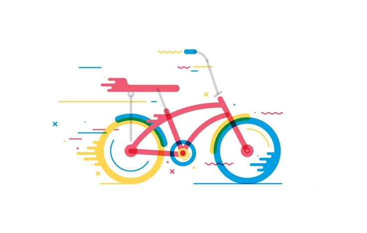 #Bicicleta #Colores