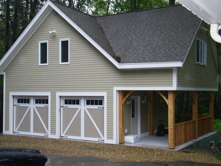 173 best studio dreams images on pinterest cottage for Garage plans with office space