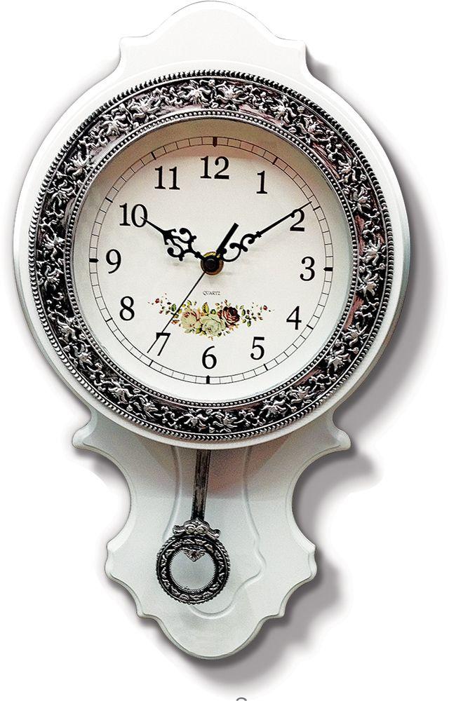 Ahşap Kavacık Sarkaçlı Duvar Saati  Ürün Bilgisi ;  Ürün maddesi : Plastik Ebat : 60 cm x 34 cm Mekanizması : Akar saniye, sessiz çalışır Garanti : Saat motoru 5 yıl garantili Zengin görünüm Üretim  : Yerli üretim Kullanım ömrü uzundur Kalem pil ile çalışmakta Ürün fotoğrafta görüldüğü gibi olup orjinal paketindedir Sevdiklerinize hediye olarak gönderebilirsiniz
