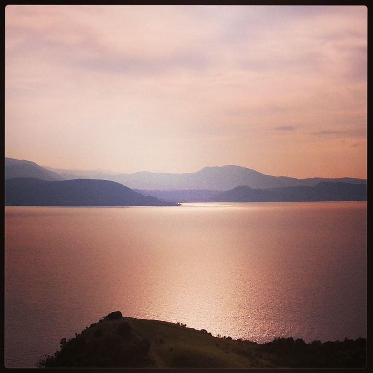 Sunrise on the Garda Lake