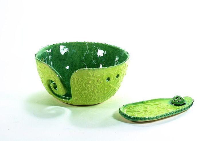 my ceramics yarn bowl Incense Holder