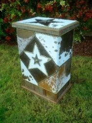 So gonna make this!!! Could be a great trash can, table, etc....diy western decor - Google Search