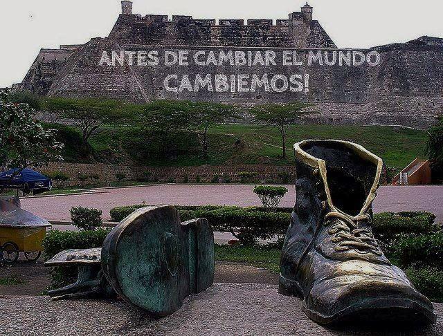 CORTAS HISTORIAS CON MORALEJA: ANTES DE CAMBIAR EL MUNDO … CAMBIEMOS!