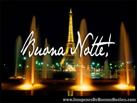 Imagen De Buenas Noches En Italiano 0019